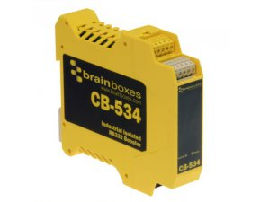 Brainboxes CB-534 Industrial Isolated RS232 Booster